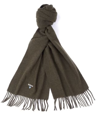 Barbour Plain Gallingale Scarf - Olive Marl