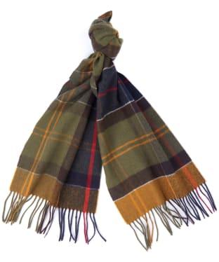 Barbour Inverness Tartan Scarf - Classic Tartan
