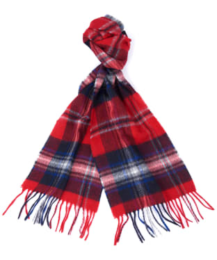 Barbour Rothwell Scarf - Red / Blue