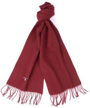 Barbour Plain Lambswool Scarf - Cinnamon