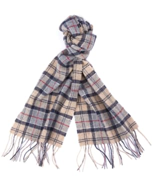 Barbour Tartan Lambswool Scarf - New Dress Tartan