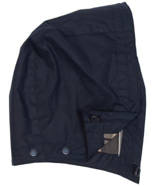 Women's Barbour Re-engineered Hood - Navy / Dress Tartan