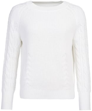 Women's Barbour Tern Knit - Aran Tropical