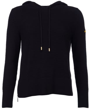 Women's Barbour International Knockhill Hooded Knit