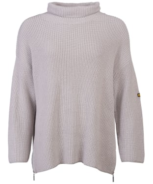 Women's Barbour International Kendrew Knit - Pale Grey Marl