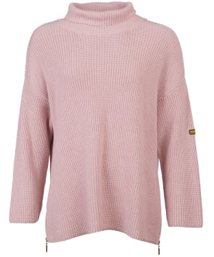Women's Barbour International Kendrew Knit - Rose Quartz