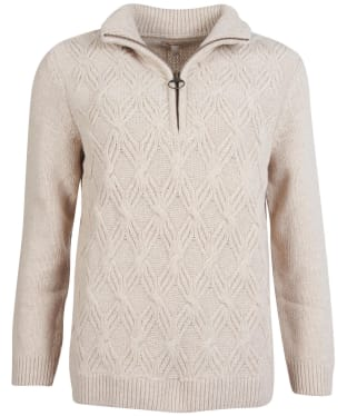 Women's Barbour Ingham Knit - Oatmeal
