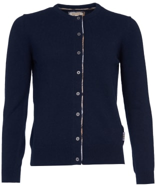 Women's Barbour Pendle Cardigan - Navy