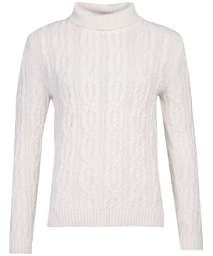 Women's Barbour Burne Knit - Cream