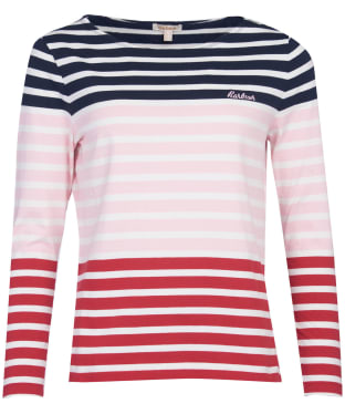 Women's Barbour Bradley Top - Navy
