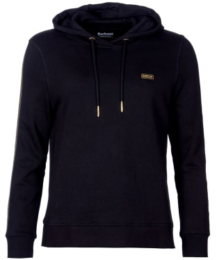Women's Barbour International Podium Hooded Overlayer - New Black