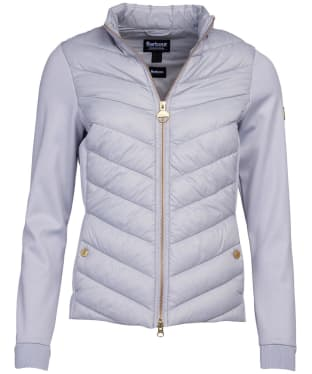 Women's Barbour International Everly Sweater - Ice White