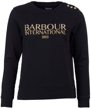 Women's Barbour International Cadwell Overlayer - Black