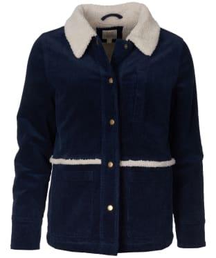 Women's Barbour Mayapple Overshirt - Navy