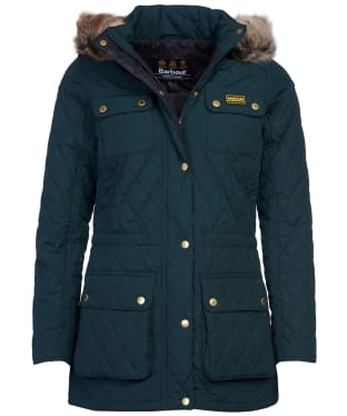 Women's Barbour International Enduro Quilt - Serpentine