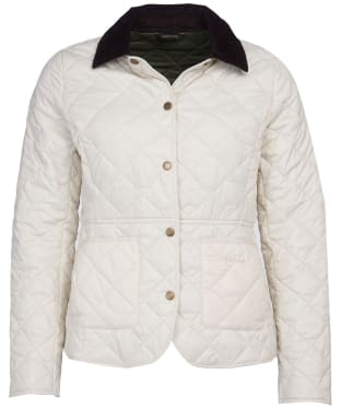 Women's Barbour Deveron Quilted Jacket - Winter Pearl
