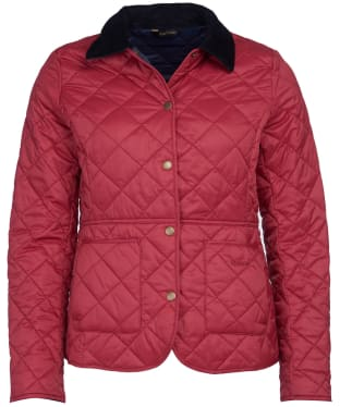 Women's Barbour Deveron Quilted Jacket - Deep Claret