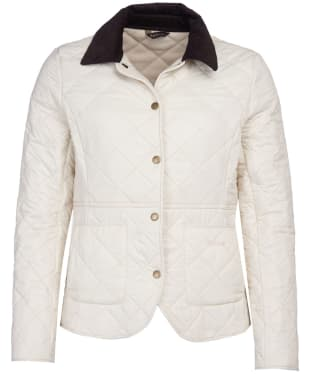 Women's Barbour Deveron Polarquilt Jacket - Winter Pearl