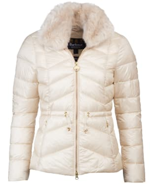 Women's Barbour International Halfback Quilted Jacket - Calico