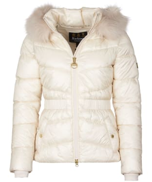 Women's Barbour International Checkside Quilted Jacket - Calico