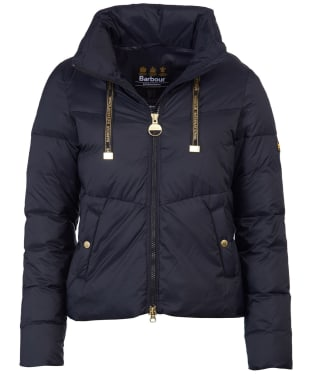 Women's Barbour International Kendrew Quilted Jacket - Black