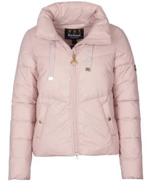 Women's Barbour International Kendrew Quilted Jacket - Rose Quartz