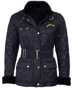Women's Barbour International Modern International Polarquilt Jacket - Black