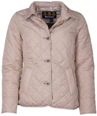 Women's Barbour Forth Quilted Jacket - Light Trench