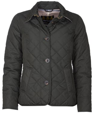 Women's Barbour Forth Quilted Jacket - Sage