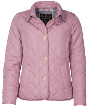 Women's Barbour Forth Quilted Jacket - Ice Rose