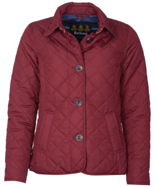 Women's Barbour Forth Quilted Jacket - Garnet