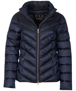 Women's Barbour Monteith Quilted Jacket - Dark Navy
