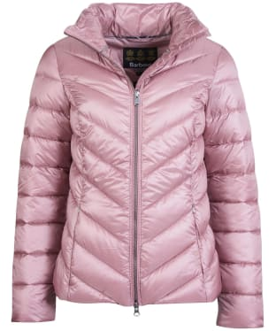 Women's Barbour Monteith Quilted Jacket - Ice Rose