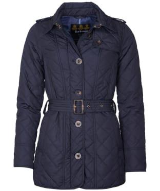 Women's Barbour Tummel Quilted Jacket - Dark Navy