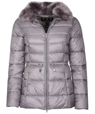 Women's Barbour Angus Quilted Jacket - Storm Front
