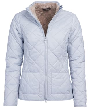 Women's Barbour Petrel Quilted Jacket - Gray Dawn