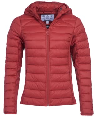 Women's Barbour Murrelet Quilted Jacket - Burnt Red