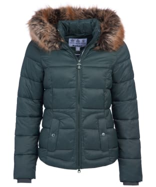 Women's Barbour Dover Quilted Jacket - Isle Green