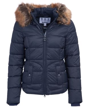 Women's Barbour Dover Quilted Jacket - Dark Navy
