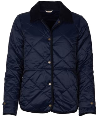 Women's Barbour Mallow Quilted Jacket - Dark Navy
