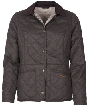 Women's Barbour Huddleson Quilted Jacket - Olive