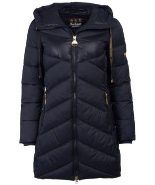 Women's Barbour International Portimao Quilted Jacket - Black