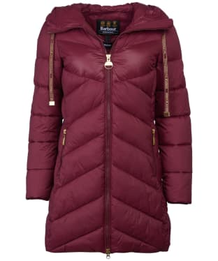 Women's Barbour International Portimao Quilted Jacket - Port