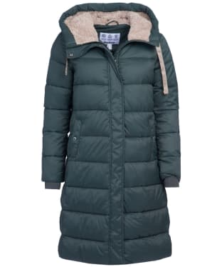 Women's Barbour Cassins Quilted Jacket - Isle Green
