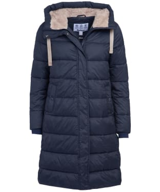 Women's Barbour Cassins Quilted Jacket - Dark Navy