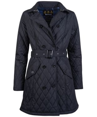 Women's Barbour Cornell Quilted Jacket - Black