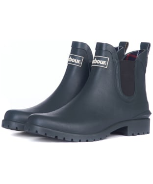 Women's Barbour Wilton Welly - Isle Green