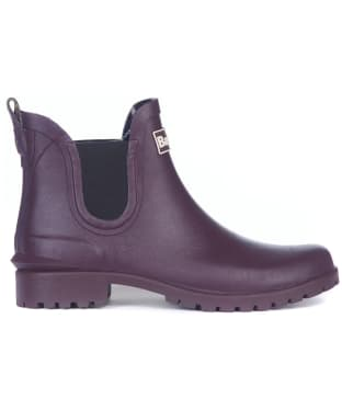 Women's Barbour Wilton Welly - Eggplant