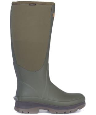 Women's Barbour Cyclone Neoprene Wellington Boots - Olive