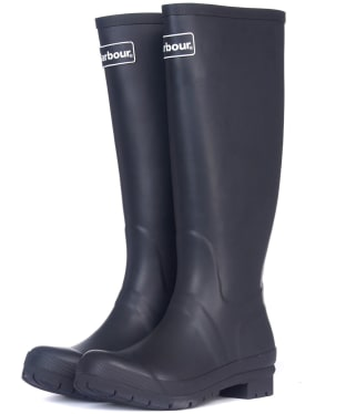 Women's Barbour Abbey Wellington Boots - Black